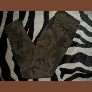 Camo Skinny Jeans Camo Pants
